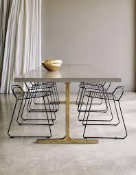 Modern Dining Room Table Best 25 Concrete Dining Table Ideas On Pinterest Concrete Table