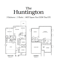 great room floor plans huntington aspen view homes