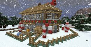 santa u0027s workshop christmas special minecraft building inc