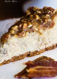 maple bacon cheesecake recipe with a tutorial ashlee