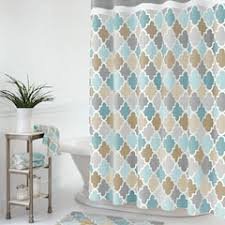 blue shower curtains kohl s