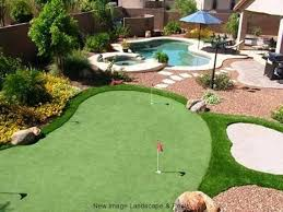 get a backyard putting green at home new image landscape u0026 pools