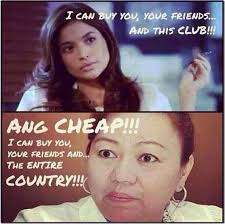 Club Meme - anne curtis slapping scandal meme i can buy you your friends and
