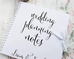 wedding planning book organizer wedding planner book etsy