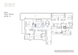 robin residences newlaunchconnect sg singapore new launches 5 bedroom floor plan