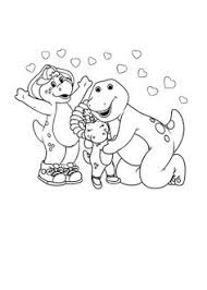 bj park coloring u2013 barney u0026 friends coloring pages kids