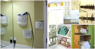 Small Bathroom Organizing Ideas Bathroom Storage Solutions Stack Your Shelving Small Bathroom