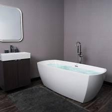 Fiber Bathtub Oval Bathtub Ebay