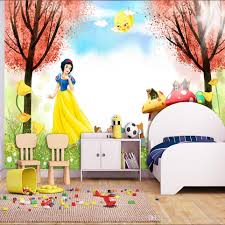 3d Wallpaper For Bedroom by Cartoon 3d Wallpaper Snow White Photo Wallpaper Princess Wall