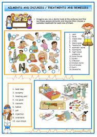 407 free esl health going to the doctor worksheets