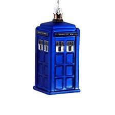 doctor who tardis ornament kurt s adler 086131192005 ebay
