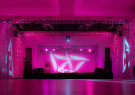 cool magenta stage led lighting for all stage spots part of