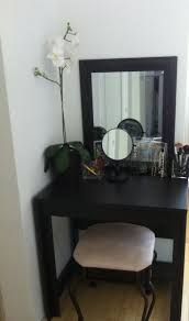 Small Desk Ideas Small Spaces Home Design Modern Glass Desk In Bedroomithooden Legs And An
