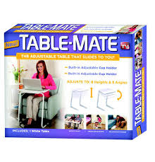 tv table as seen on tv as seen on tv table mate white the warehouse