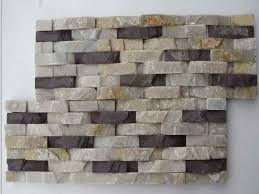 Bathroom Stacked Stone Wall Tile  Wonderful Stacked Stone Wall - Stacked stone tile backsplash