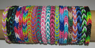 bracelet made from rubber bands images Rainbow loom rubber band stretch bracelet lot of 20 fishtail jpg