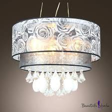 Pendant Lighting Lowes Drum Pendant Lighting Lowes Teardrop Crystals Grey Flowers Tier
