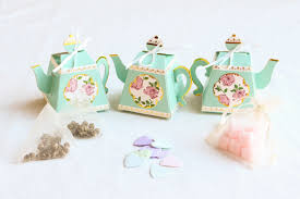 bridal tea party favors tea party bridal shower favors 1 box 3 ideas beau coup
