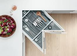 blum cuisine space corner optimise the use of corner space with the blum space