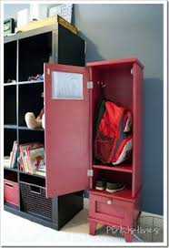 diy kids lockers wooden lockers for the home decluttering with california closets