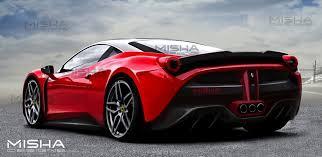 Ferrari 458 Horsepower - to create a new look misha designs u0027 ferrari 458 body kit takes