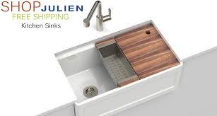kitchen collection free shipping julien sinks trough bar sink befon for viking appliances direct