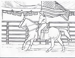 rodeo coloring pages chuckbutt com