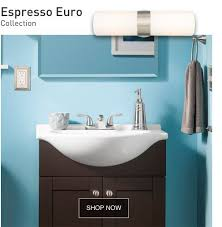 Blue Green Turquoise Bathroom Decor Space Saving Modern by