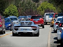 porsche 918 exterior porsche 918 spyder spotted in carmel valley ca mind over motor