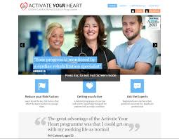 jmir evaluating the interactive web based program activate your