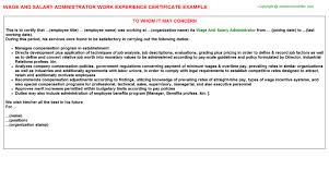 Psychiatrist Resume Wage And Salary Administrator Work Experience Certificate