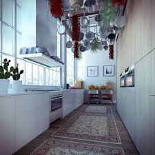 Galley Kitchen Rugs Galley Kitchen Four Walls