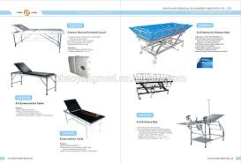s s hospital adjustable bedside table s s hospital portable