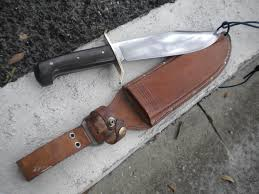 western boulder colo usa bowie knife 1964 u2013 1967 fixed blade