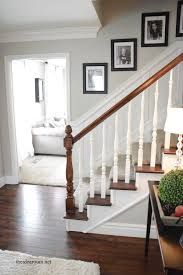 Oak Banister How To Stain An Oak Banister Banisters Staircases And House