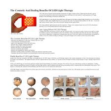 red light therapy skin benefits the cosmetic and healing benefits of led light therapy
