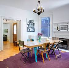 Area Rugs In Dining Rooms by Purple Area Rugs Dining Room Contemporary With Earth Tone Colors