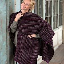 crochet wrap around town crochet ruana wrap allfreecrochet