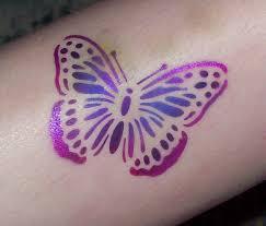 air brushed tattoos