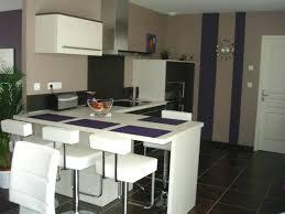 comment decorer une cuisine ouverte idee deco cuisine ouverte charmant deco cuisine salle a manger et