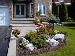 Small Landscaping Ideas Front Yard Idea Pavers And Curvy Grass Garden Shade Flowers