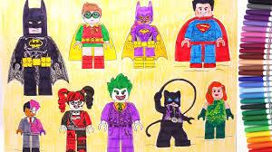lego batman movie batman robin superman batgirl harley quinn