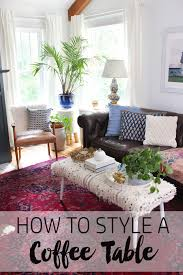 Design A Coffee Table How To Style A Coffee Table Thewhitebuffalostylingco Com