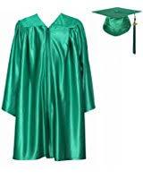 green cap and gown graduationmall kindergarten graduation gown cap tassel