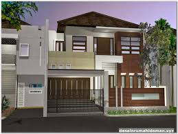 desain rumah corel 142 gambar contoh desain rumah minimalis modern