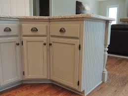 kitchen cabinet refinishing repainted kitchen island added side