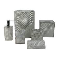 Gray Bathroom Sets - bath accessory sets you u0027ll love