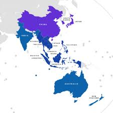 south asia countries map association of southeast asian nations