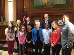 general smallwood students visit epa interview administrator