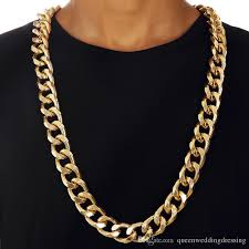 big chunky necklace images 90cm big chunky hiphop gold chain for men jewelry wholesale gold jpg